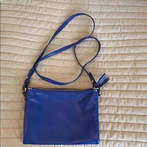 Cerulean Blue Crossbody Bag